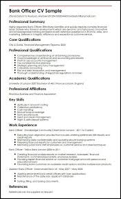 Banking Resume Samples Resume Sample