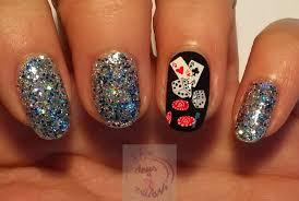 365+ days of nail art: Day 284) Viva Las Vegas nail art
