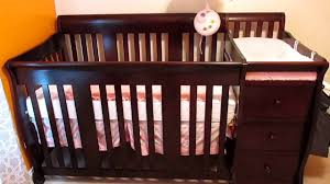 stork craft convertible crib changer review