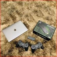 Máy chơi game cầm tay tích hợp 3500 trò chơi cùng tay cầm không dây cho  trải nghiệm hình ảnh và âm thanh sống động. - Máy Chơi Game Khác Thương hiệu