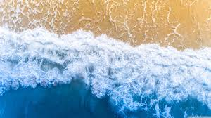 Blue Ocean Aesthetic Background Ultra ...