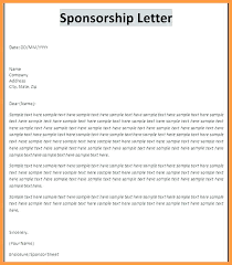 Format For Sponsorship Letter Extraordinary Proposal Letter For Sponsorship Sample Event Sponsor Confirmation