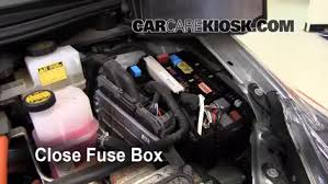 replace a fuse 2010 2015 toyota prius 2010 toyota prius 1 8l 4 cyl 6 replace cover secure the cover and test component