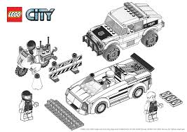 Dessin Lego Police Malvorlagen Us