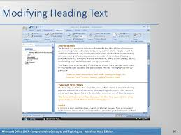 Microsoft Word Chapter 7 Ppt Download