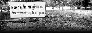 through studying the holocaust ns deal own genocide  the site of a mass grave in photo credit courtesy international association