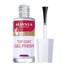 mavala mavala nail treatment top coat gel finish 5ml