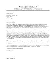 Cover Letter Samples For Doctors Fishingstudio Com