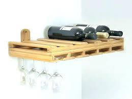 wall mounted wine glass rack hanging metal racks ikea