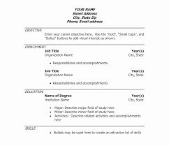 50 New Sample Template For Curriculum Vitae Resume Curriculum