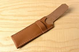 leather pocket knife pouch