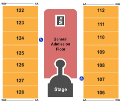 Greensboro Coliseum Detailed Seating Chart Special Events Center At Greensboro Coliseum Complex Tickets