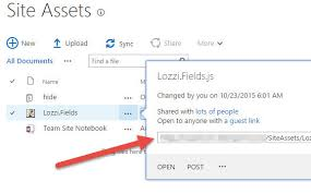 Embedding your JavaScript into a SharePoint page – David Lozzi's Blog