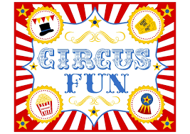 Free Birthday Invitations Templates For Kids Beauteous FREE Circus Birthday Party Printables From Printabelle Catch My Party