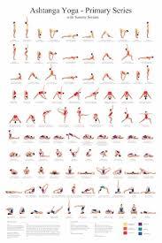 ashtanga primary series practice chart