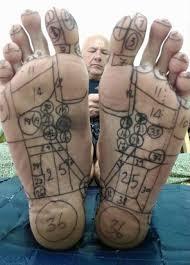 Thai Foot Reflexology Chart Thai Foot Reflexology Courses Yogamassageschool Com