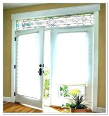 sliding door window treatment designs treatments for doors with half glass back curtain coverings ideas