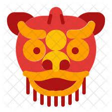 1share barongsai adalah tarian tradisional china dengan menggunakan sarung yang menyerupai singa. Dragon Lion Dance Icon Of Flat Style Available In Svg Png Eps Ai Icon Fonts