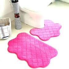 pink bathroom rugs esklepy rh esklepy info light pink bathroom rug set hot pink bathroom rug set