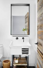 13 ideas for creating a more manly masculine bathroom a reclaimed wood door