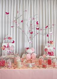 White_pink_lolly_bar_butterfly_theme_Wollongong | Party Party ...