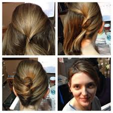 How To Hair Girl 3 Charming Up Do S For Short Hair Daily Wear