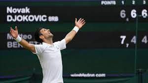Novak Djokovic Wins Wimbledon, U.S ...