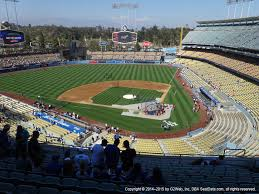 Dodger Stadium View From Reserve Mvp 7 Vivid Seats