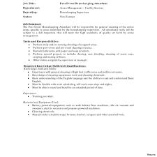 Housekeeper Resume Housekeeper Resume Therpgmovie 48