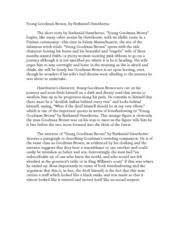 essay young goodman brown analysis original papers essay young goodman brown analysis