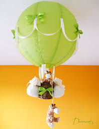 Lampe Montgolfi Re B B Girafe D Coration Chambre Enfant B B