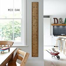 Kids Rule Giant Ruler Height Chart Non Personalised