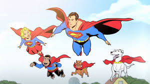 Image result for man and superman cartoon