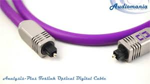 <b>Кабель оптический</b> Analysis Plus Toslink Optical Digital <b>Cable</b> ...