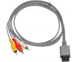 6 ways to connect your nintendo wii to any type of tv typical nintendo wii av cable