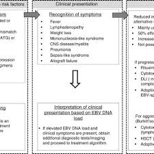 Ebv Interpretation Chart Flow Chart Of The Clinical Management Of Post Transplant Ebv