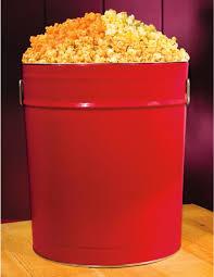 er cheddar caramel gourmet popcorn solid red tin 4 lbs stew leonard s gifts