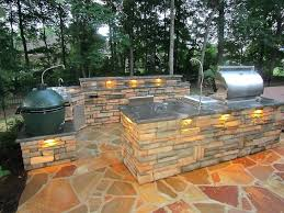 landscaping outdoor kitchen built in bbq grill ideas 7 tips best inside designs 9