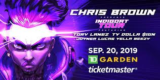 Td Garden Seating Chart Drake Chris Brown Td Garden