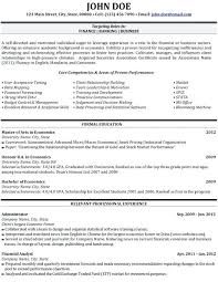 Financial Analyst Resume Samples Perfect Financial Analyst Resume ...