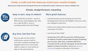 allegiant frequent flyer miles allegiant introduces a points program but only for credit card