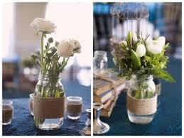 Mason Jars Decorated With Twine DIY 100 DIY Mason Jar Wedding Ideas Oh Lovely Day 8