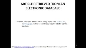 How To Cite Online Article In Apa Format Resume Aciertaus