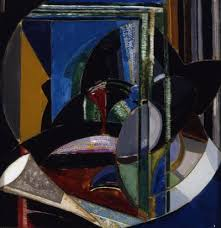 spotlight essay joseph stella kemper art museum joseph stella man in elevated train c 1916 18