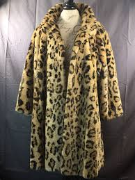 vintage cheetah fur coat womens faux cheetah print winter coat gold brown animal print coat big cat pattern coat womens fashion clothing