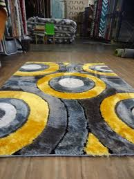 yellow rugs and blue area rug ikea grey coffee tables black circle white clearance