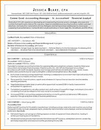 6+ Cpa Resume Sample Entry Level | Grittrader