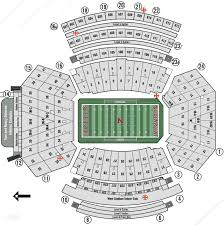 Nebraska Cornhuskers Stadium Seating Chart Memorial Stadium Home Of Nebraska Cornhuskers Football