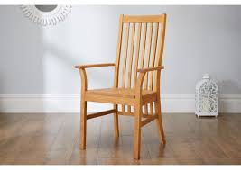 wooden chairs with arms. Exellent Chairs Lichfield Solid Oak Carver Dining Chair On Wooden Chairs With Arms