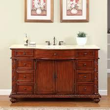 60 victoria bathroom vanity single sink cabinet cherry